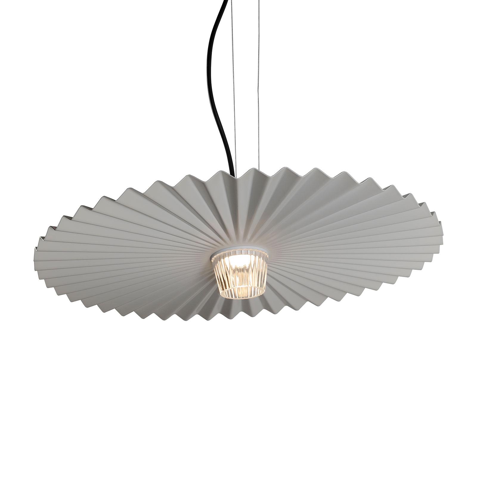 Karman Gonzaga lampa wisząca LED, Ø 59 cm, biała