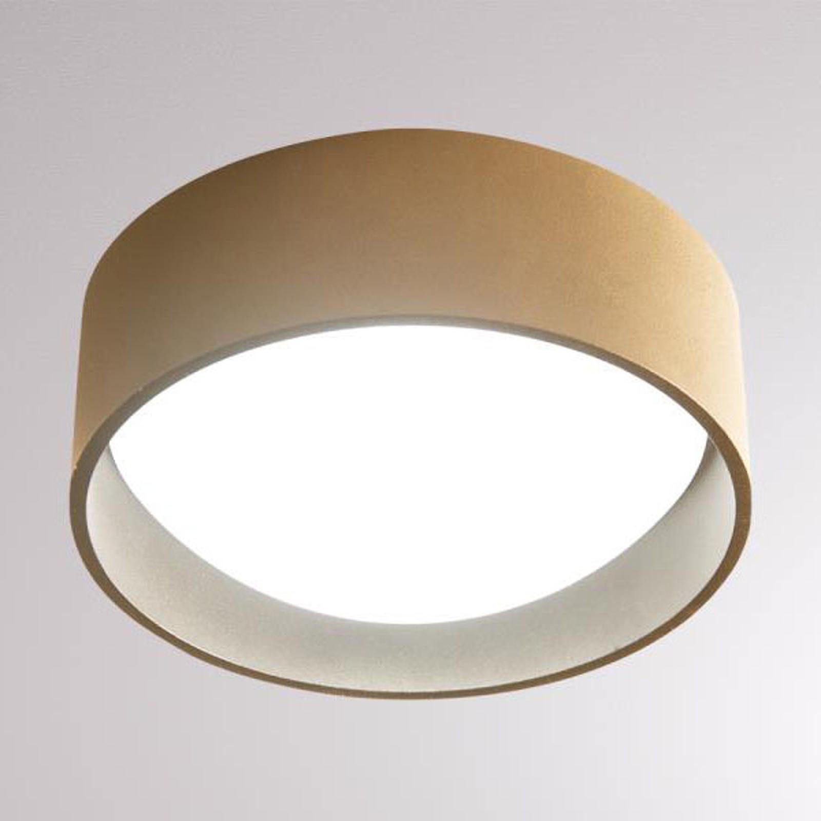LOUM Yura LED-loftlampe, terra