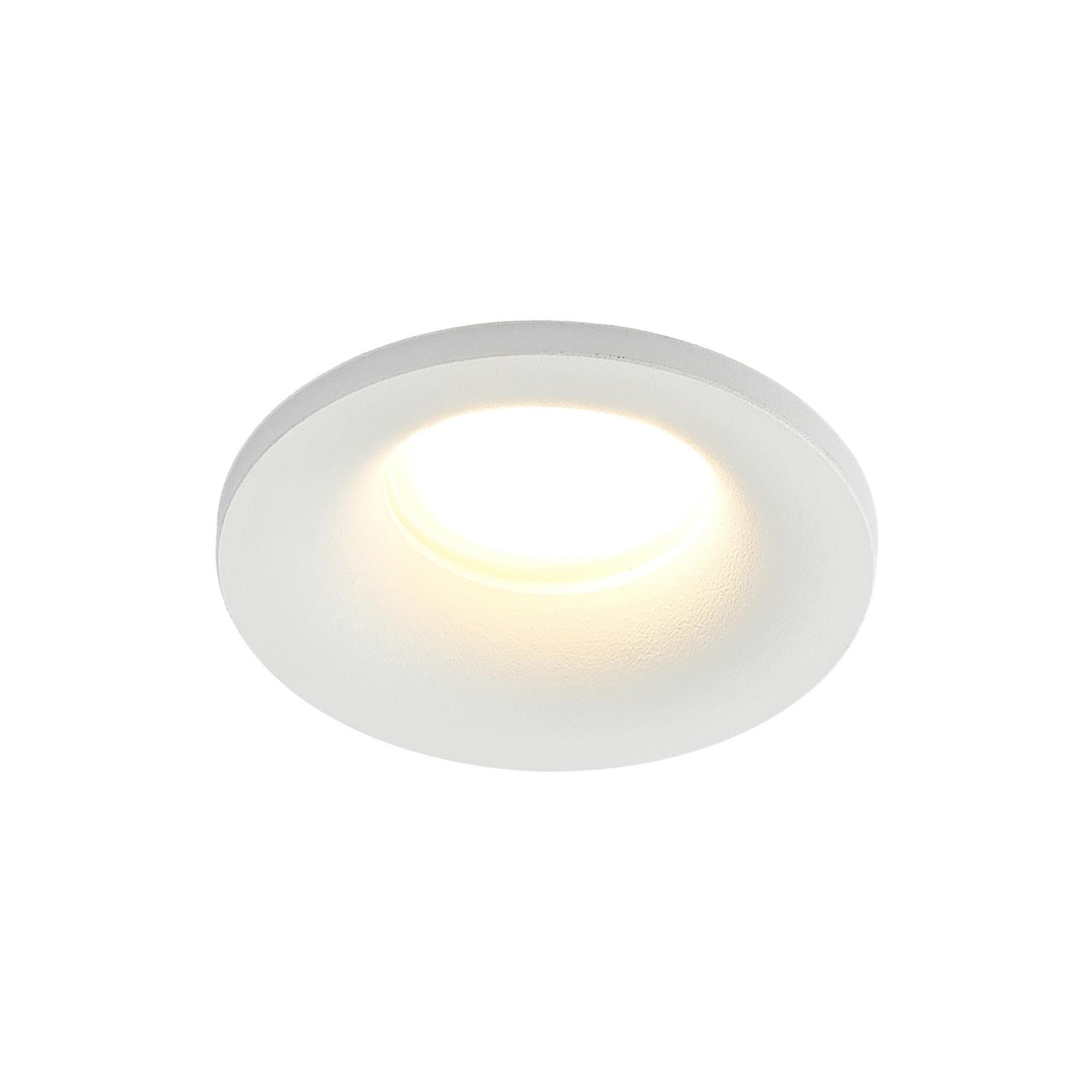 Arcchio Enia Einbauleuchte, rund, weiß