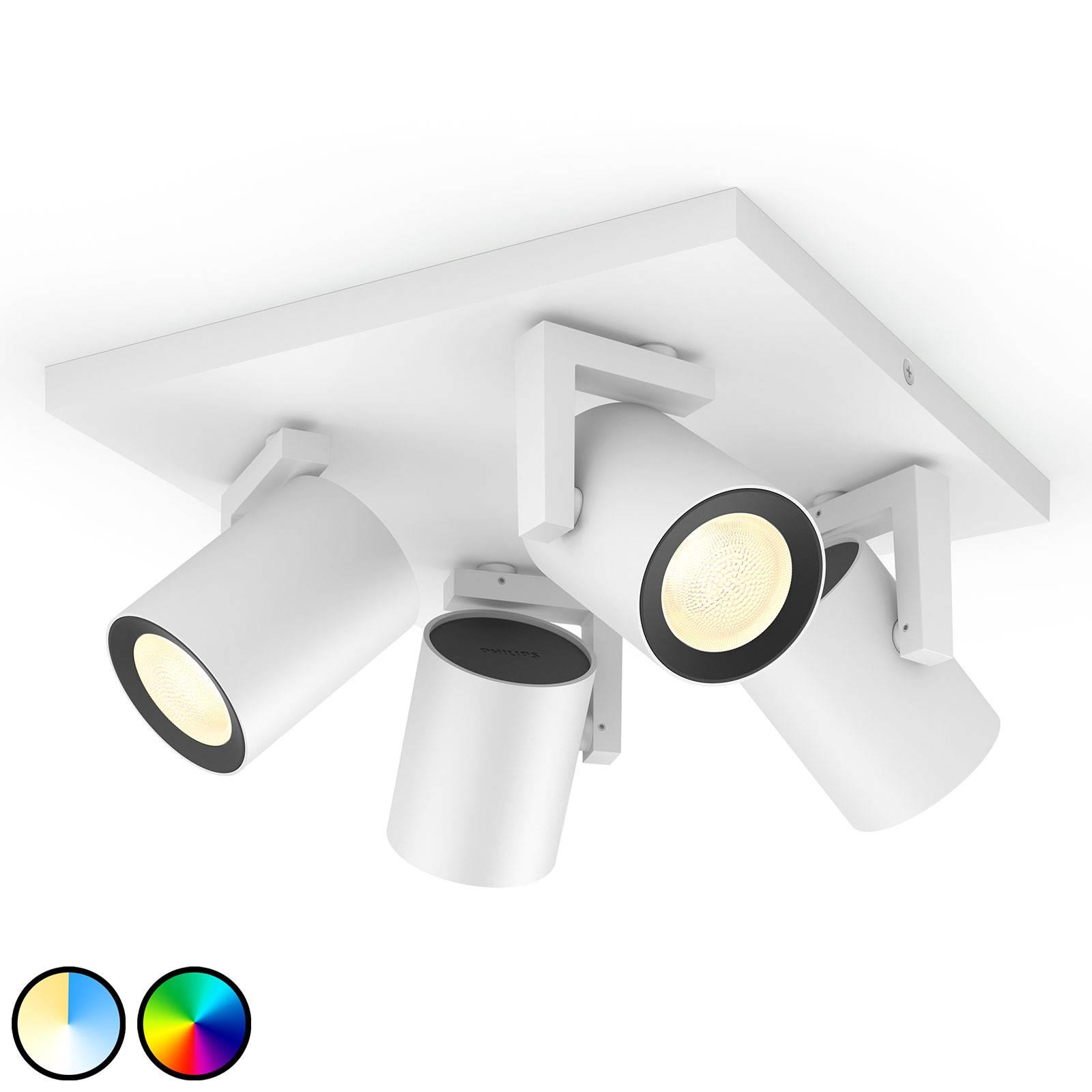 Philips Hue Argenta LED spot wit 4-lamps