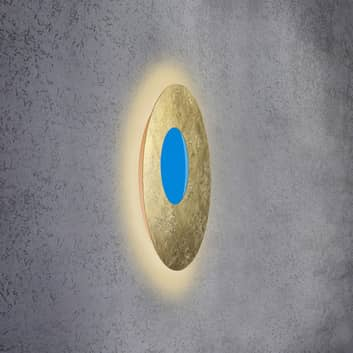 Escale Blade Open LED wandlamp RGB+W goud