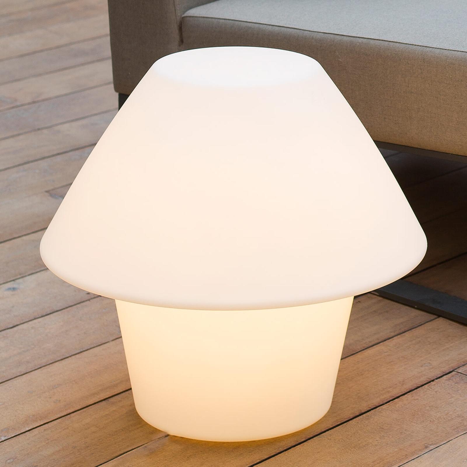 Komplett lysende dekorlampe for utebruk Versus