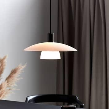 Lampa wisząca Verona w kolorze białym i czarnym