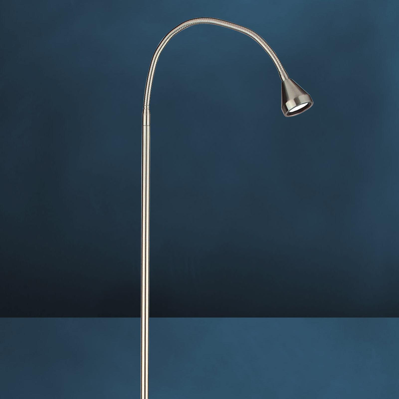 Moderne LED-vloerlamp MINI universeelwit