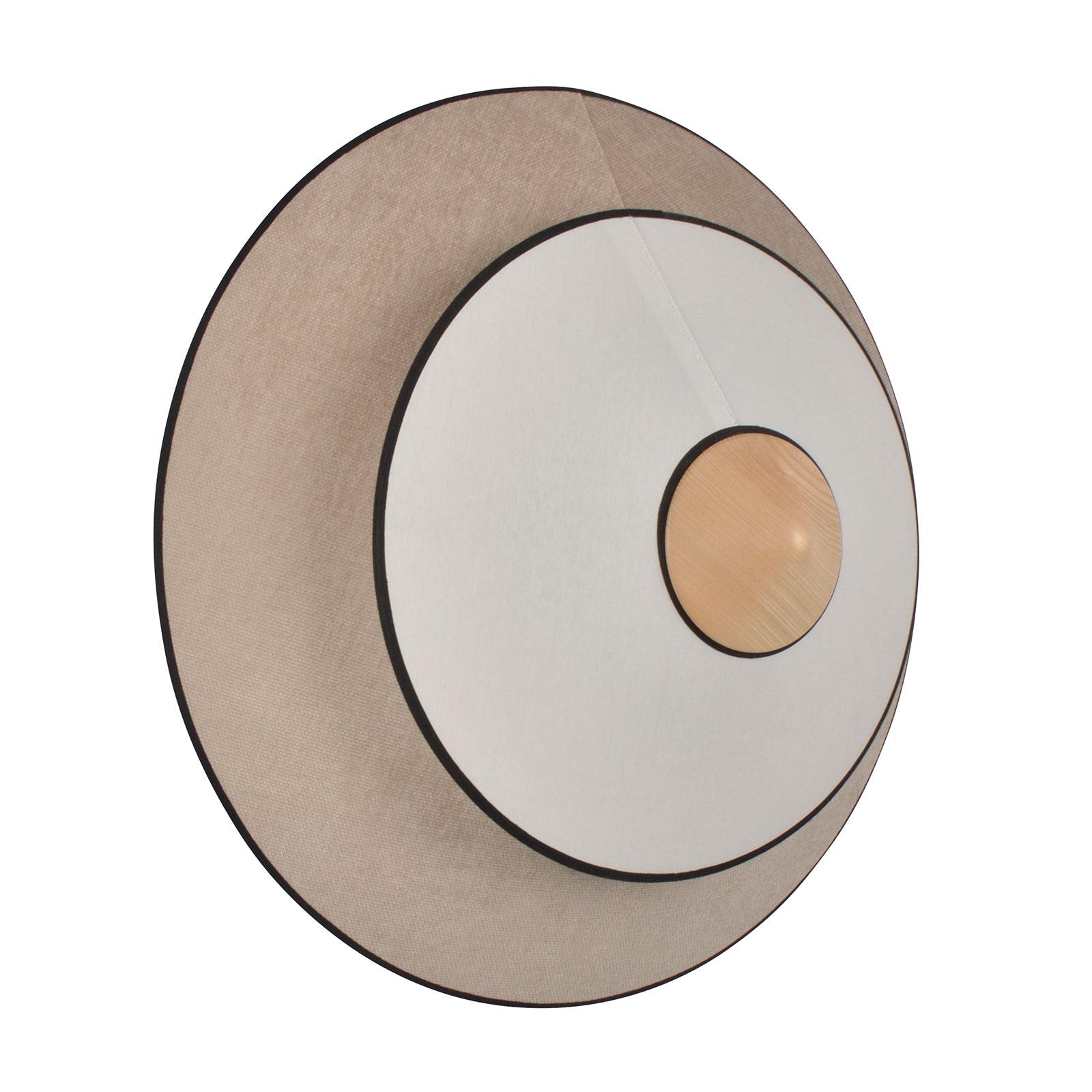 Forestier Cymbal S LED wandlamp, natuur