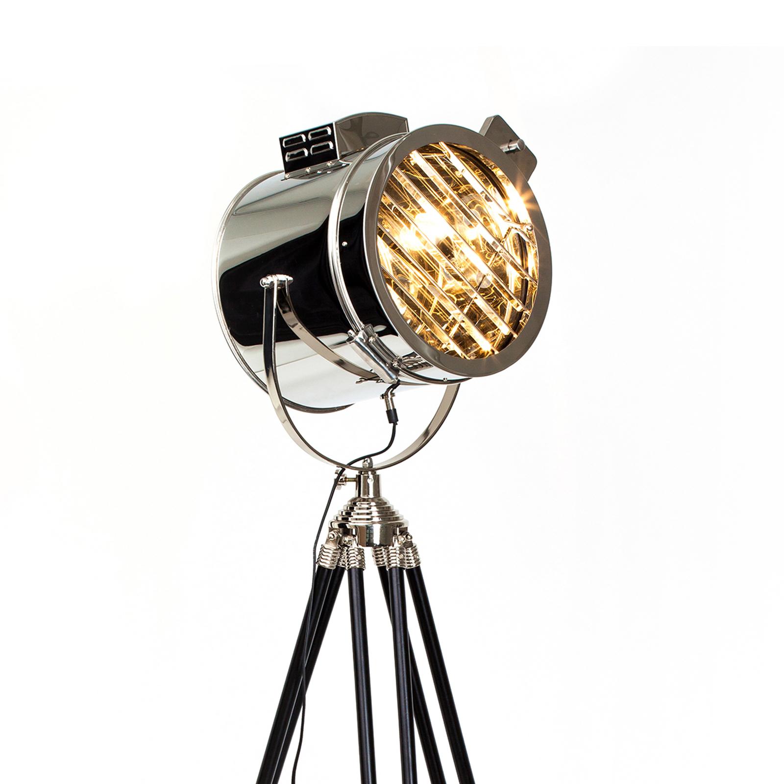 CINE - lampa stojąca w kształcie reflektora
