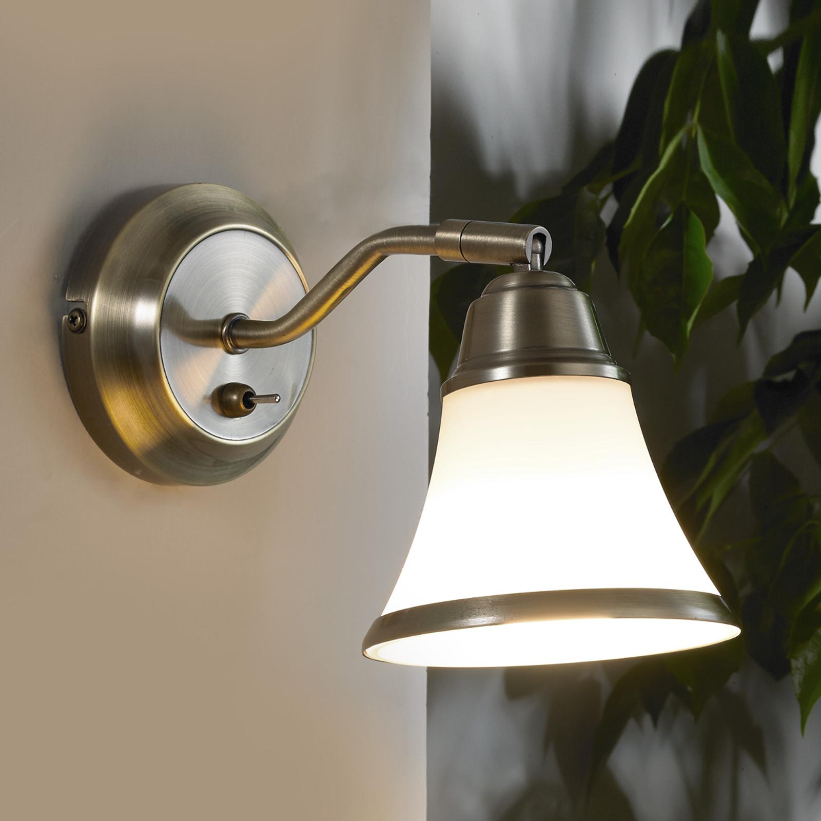 Klassiek aandoende wandlamp Marita