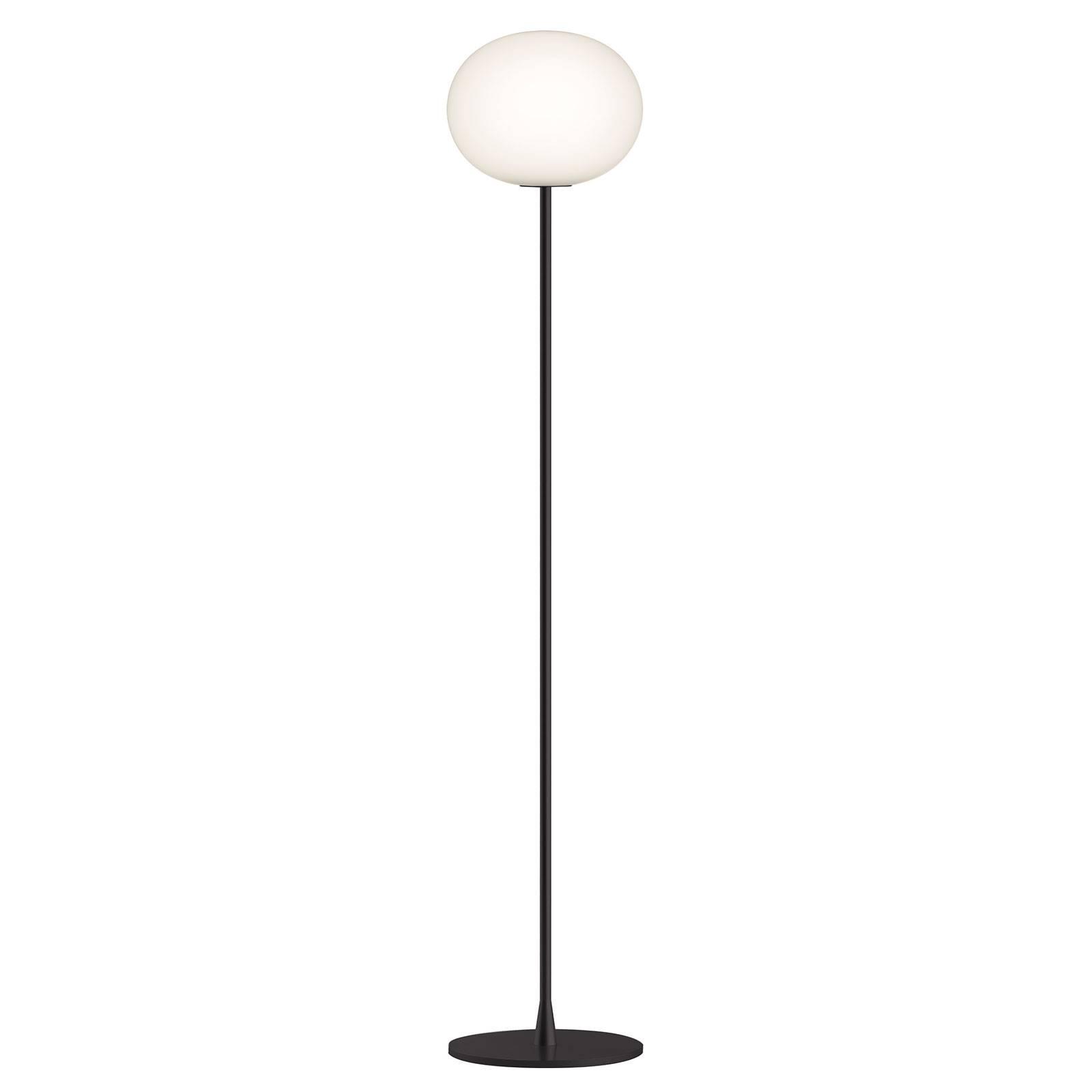 FLOS Glo-Ball F2 Stehleuchte, schwarz