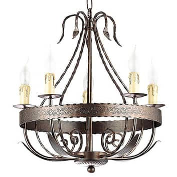 Kroonluchter Loara, 5-lamps