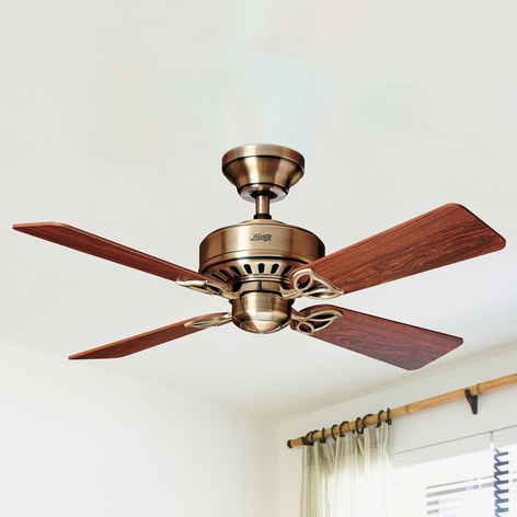 Hunter Bayport ventilateur plafond bois rose/chêne