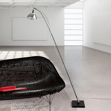 Ingo Maurer Max. Floor Stehlampe Schirm alu