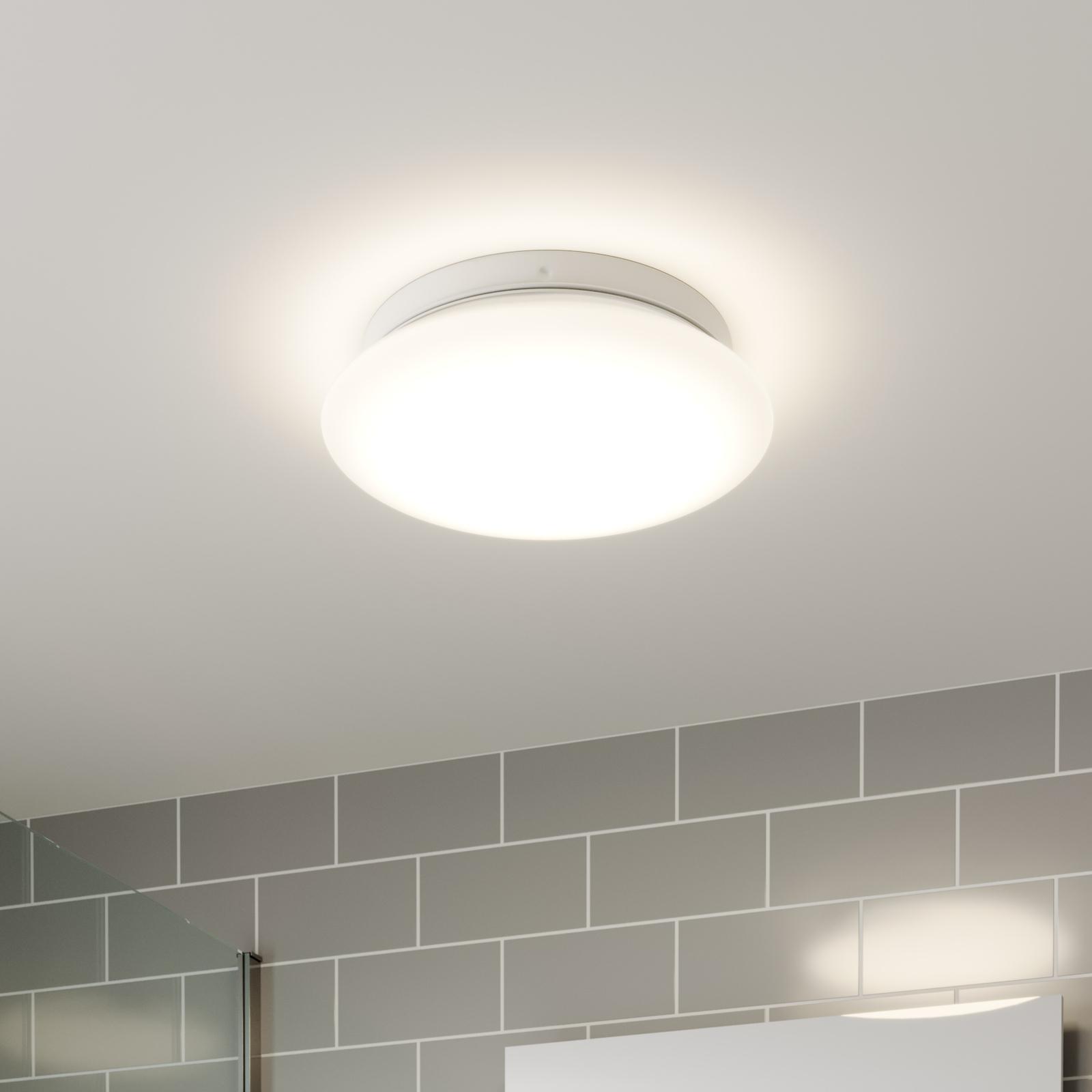 Arcchio Solomia plafonnier LED, capteur, 4000K
