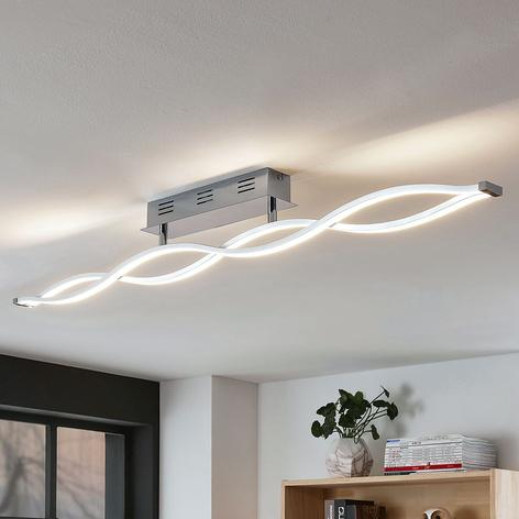 LED-taklampe Roan, bølgeformet