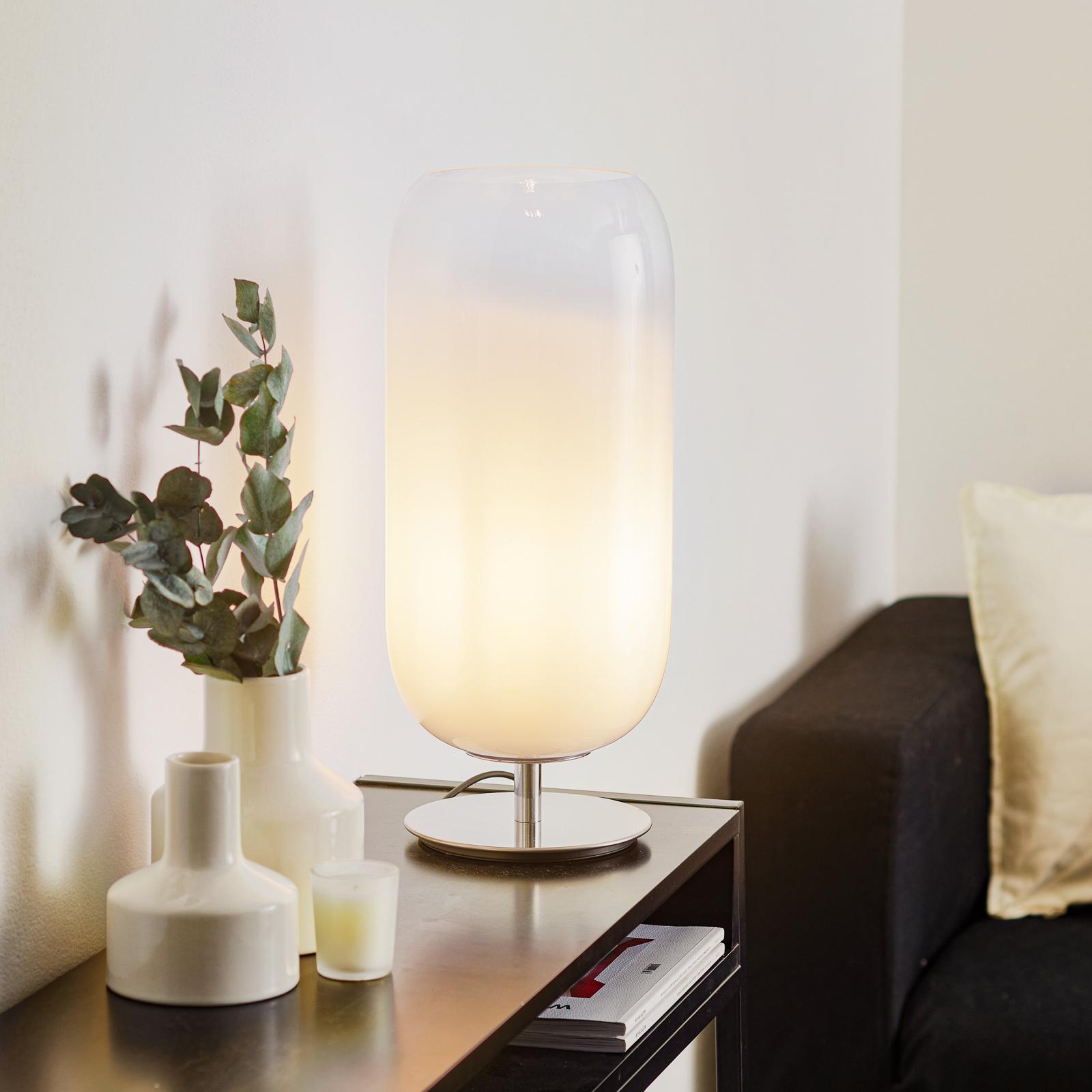 Artemide Gople bordlampe hvit