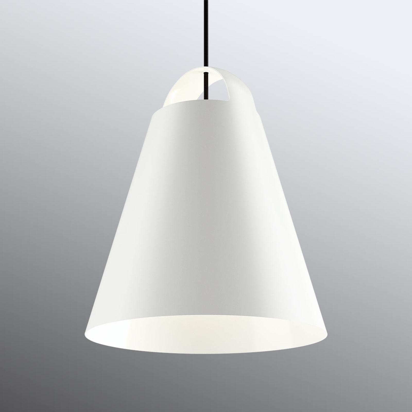 Witte design hanglamp Above 40 cm