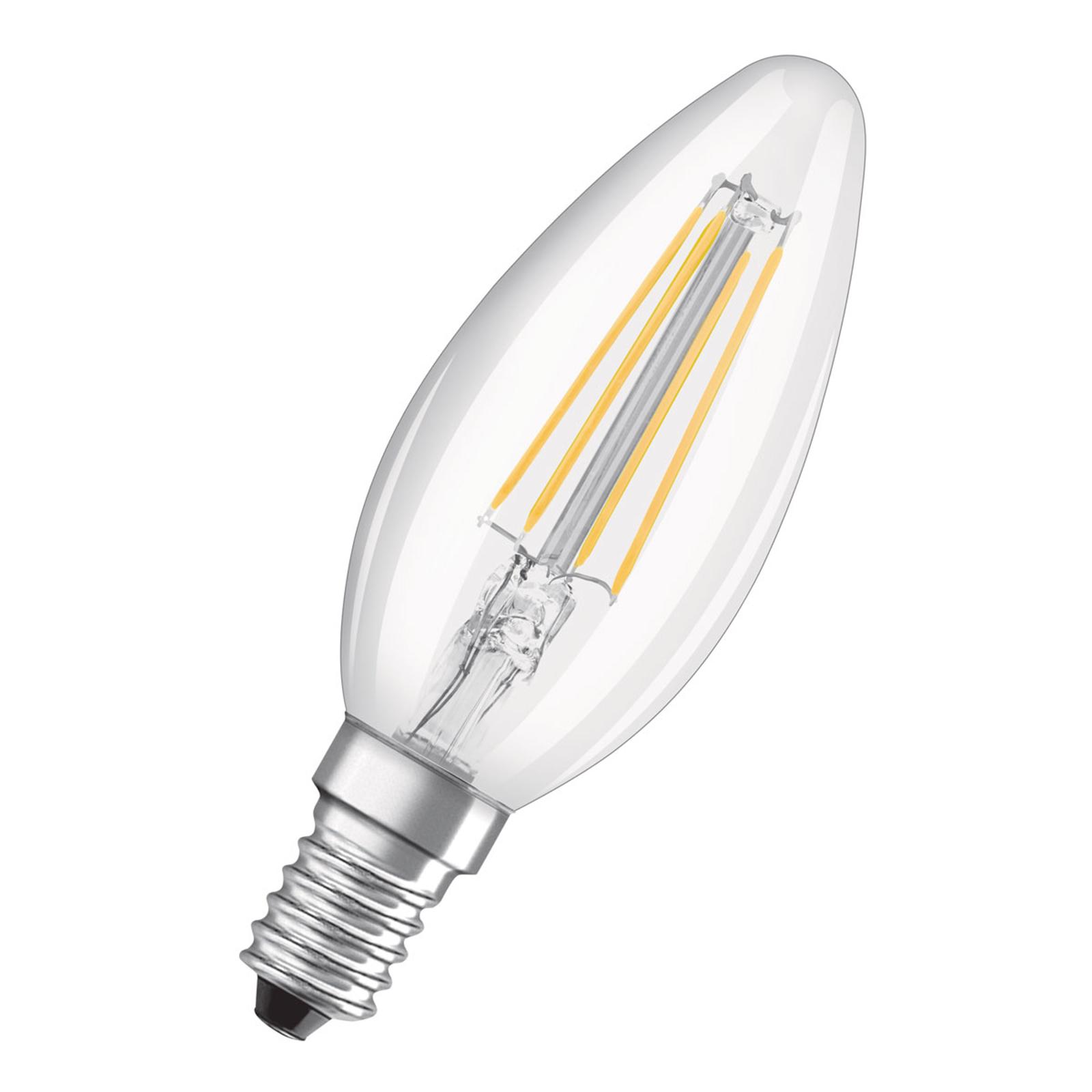 OSRAM LED-mignonpære E14 4W Classic B 4°000 K klar