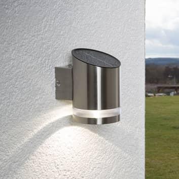 Vegghengt solcellelampe Salma med LED-lys