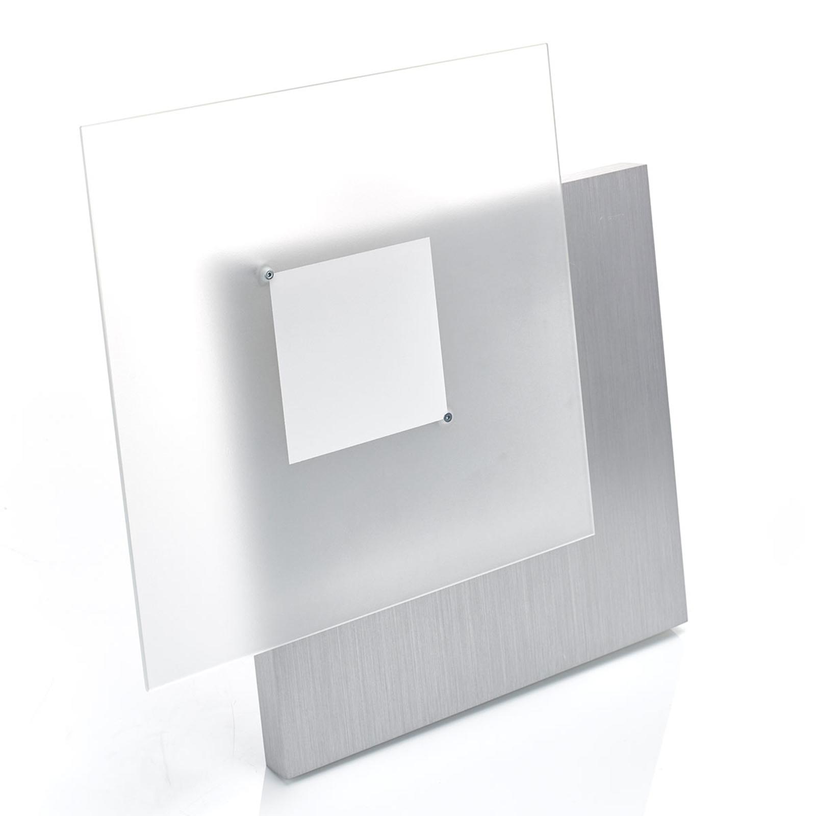 Opvallende LED-plafondlamp Flat, dimbaar