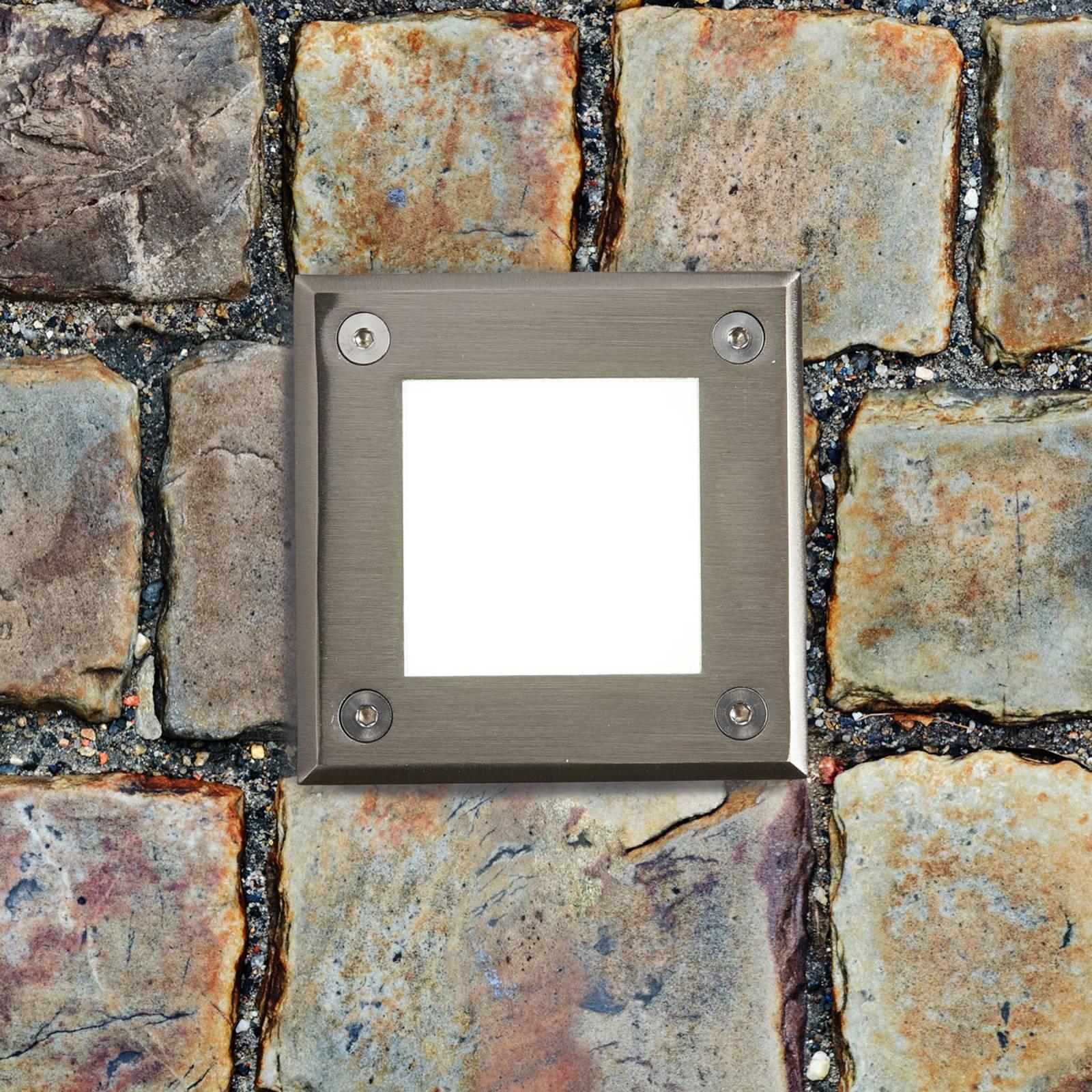 Spot encastrable dans le sol LED-18 moderne, IP67