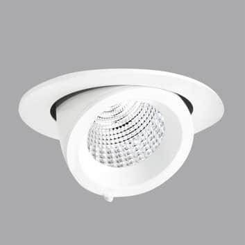 Inbyggnadslampa EB431 LED Spot reflektor vit