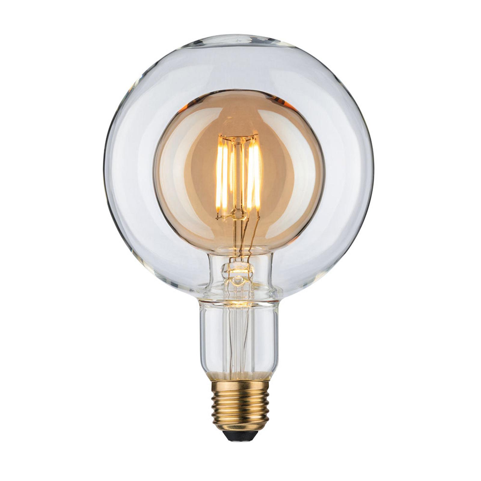 Paulmann LED-Globe E27 G125 Inner Shape 4W gold