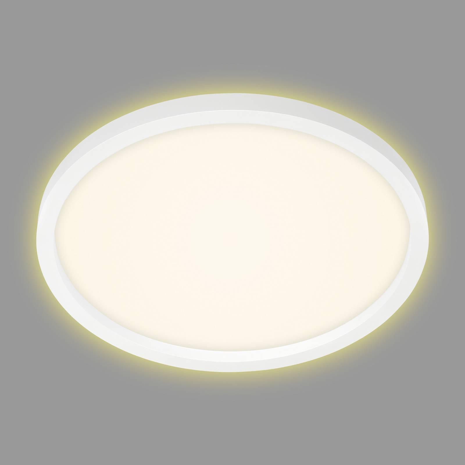 Lampa sufitowa LED 7363, Ø 42 cm, biała