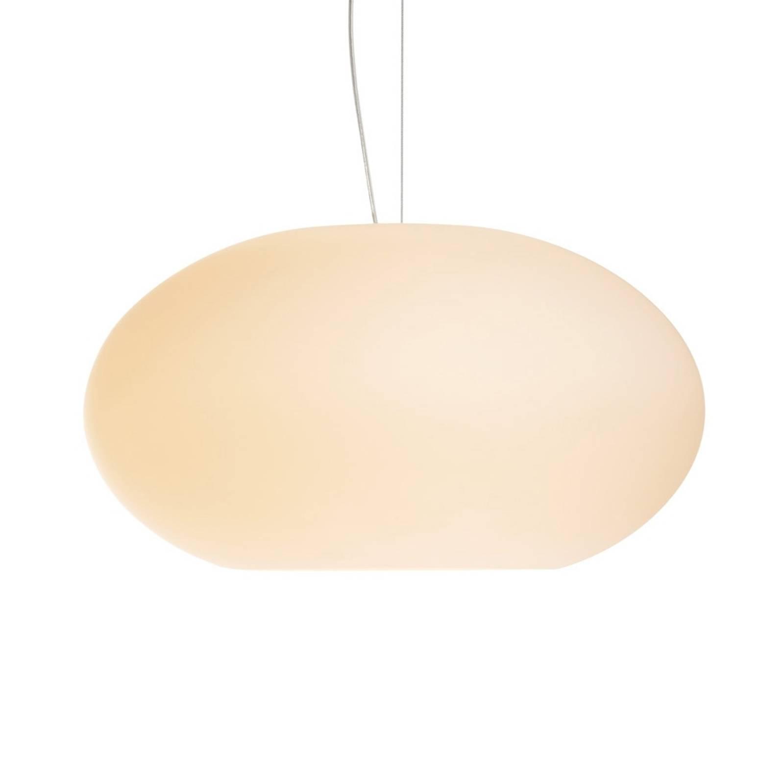 AIH, strakke hanglamp, 28 cm, crème mat