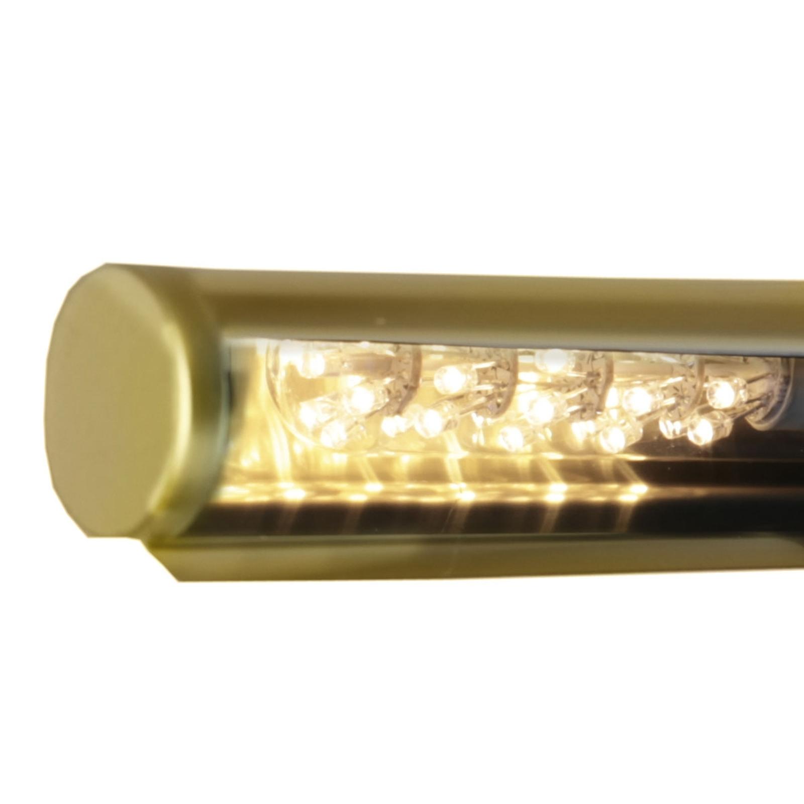 Tube lumineux LED transparent E14 1,5W blanc chaud
