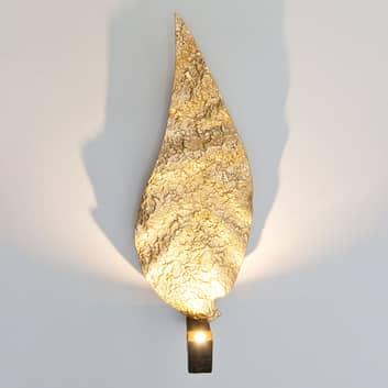 LED nástěnné světlo Gamba ve tvaru listu