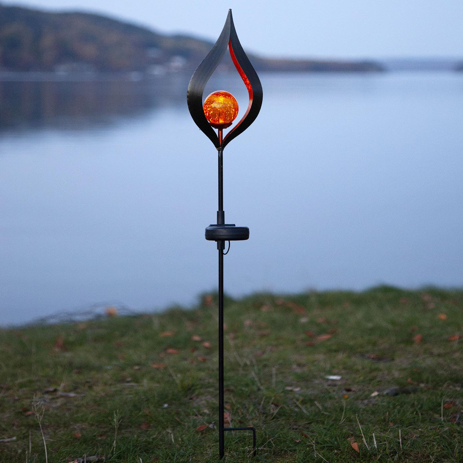 Aurinkokäyttöinen Melilla-LED-valaisin, kärki