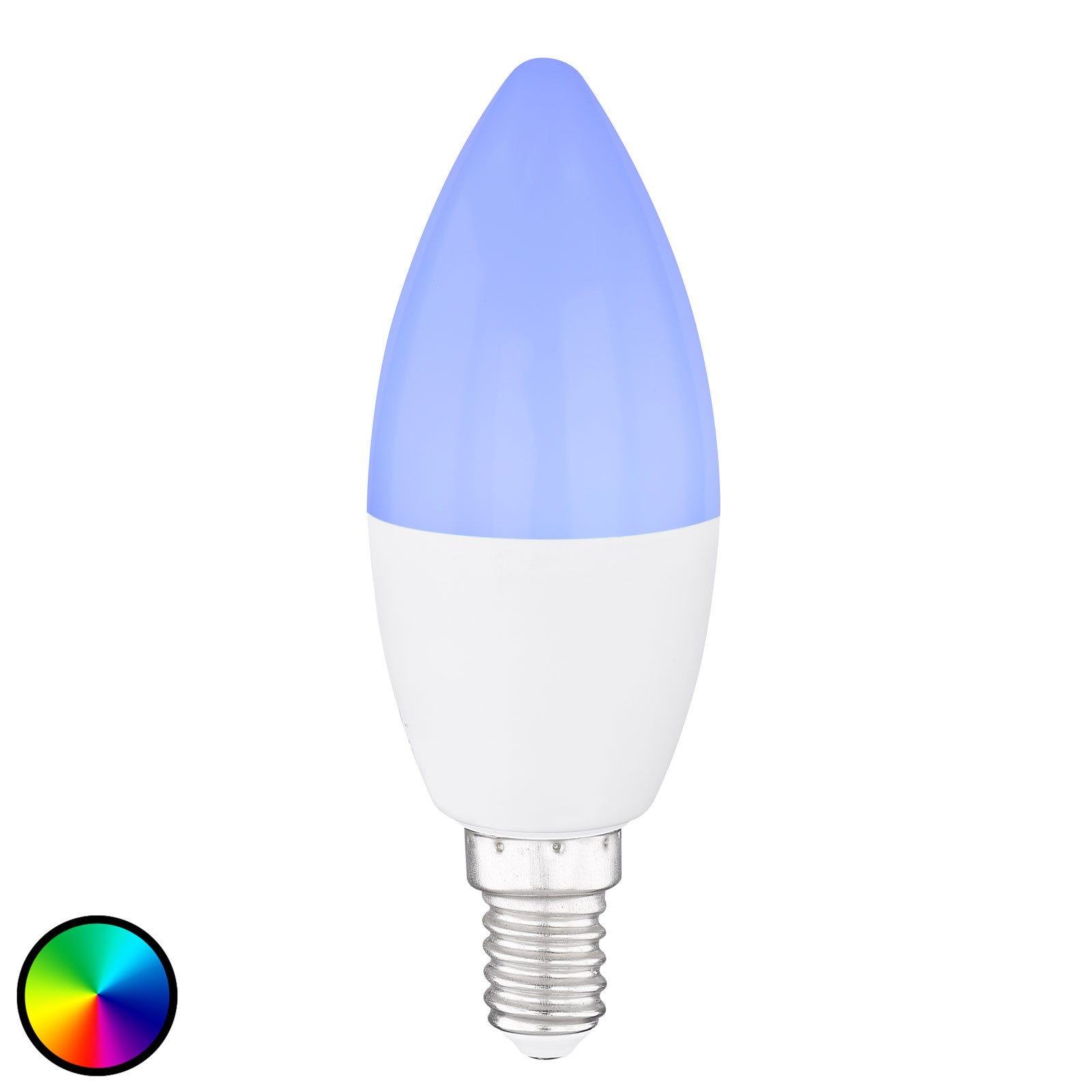 Ampoule flamme LED E14, 4,5W Tuya-Smart RGBW CCT