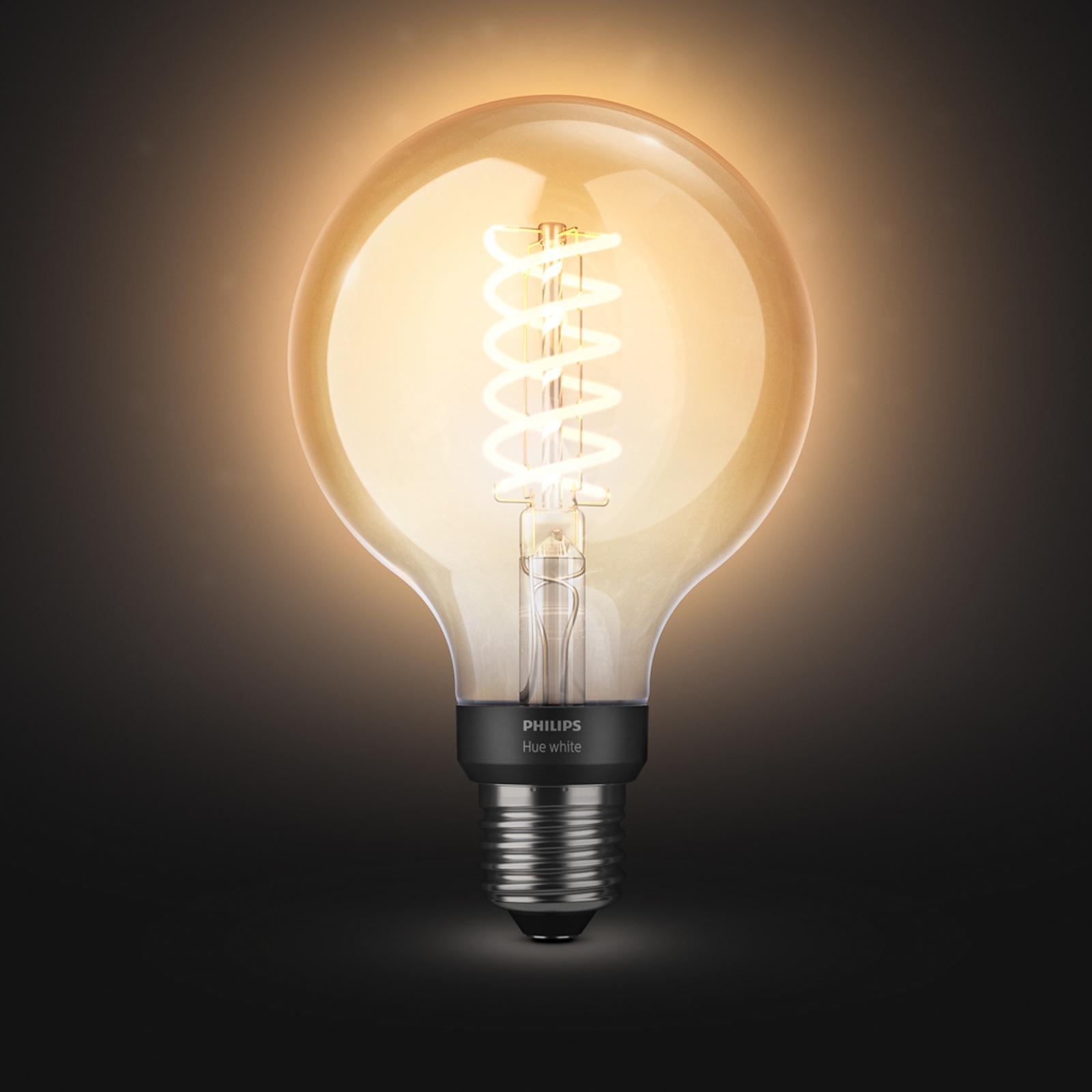 Philips Hue White 7 W E27 filament bulb globe G95_7534168_1
