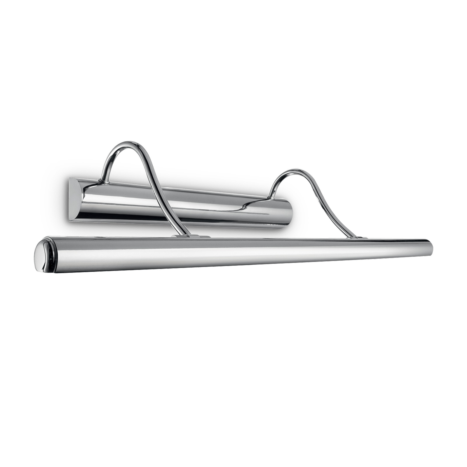 Vegglampe Mirror-10, krom, 60 cm