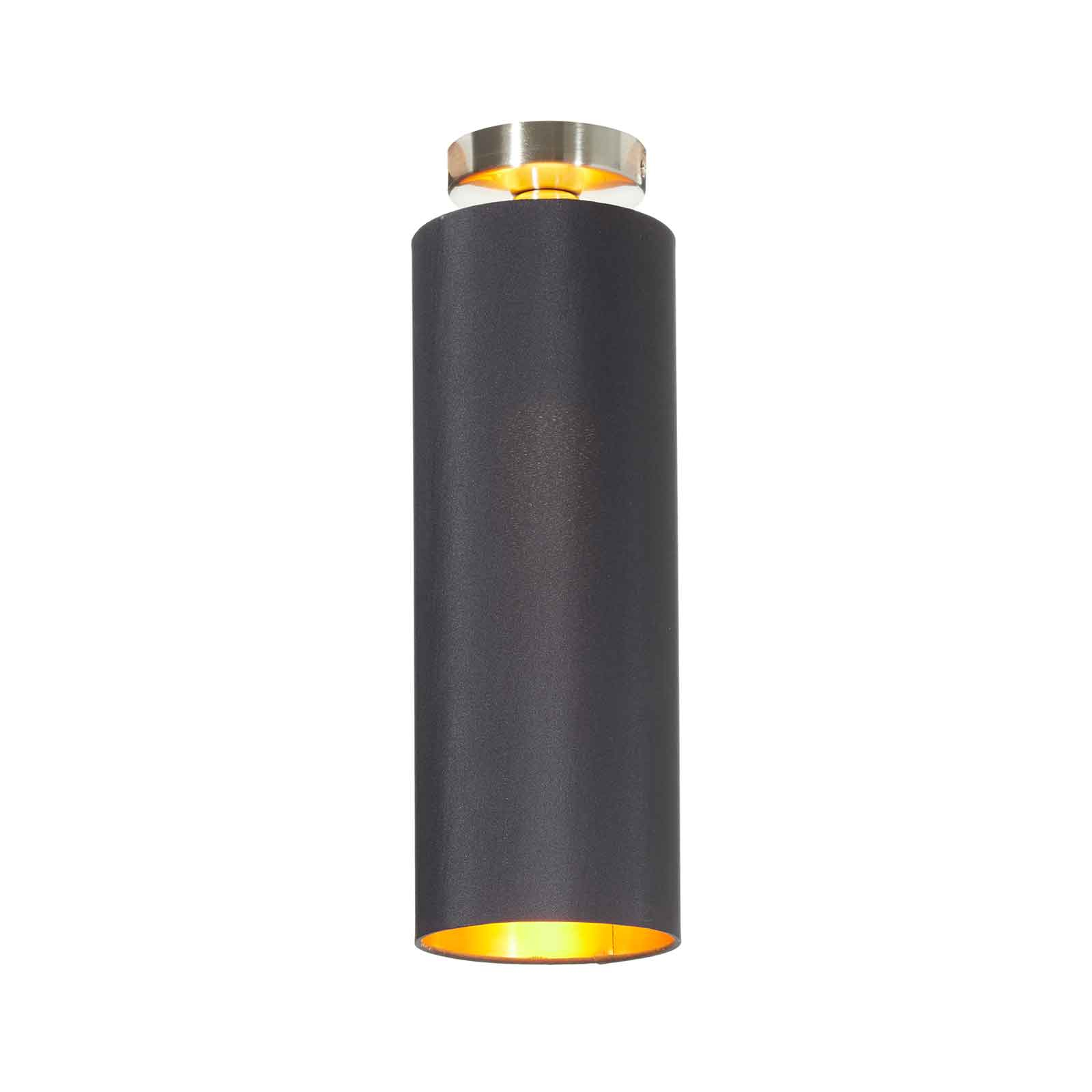 Lucande Patrik lampa sufitowa Ø15cm czarna