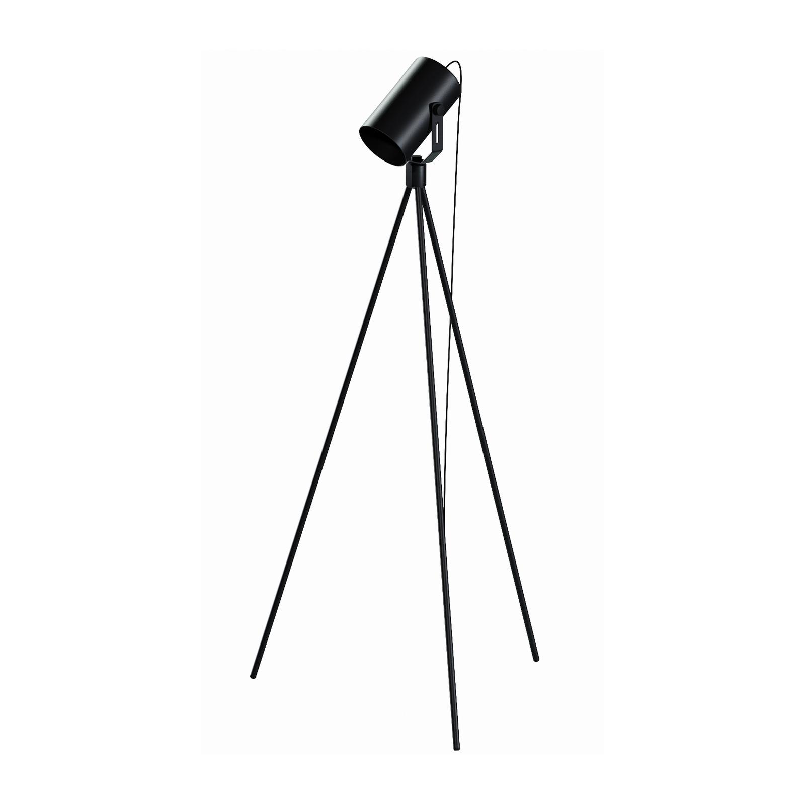 Stehleuchte La Tuba 1250 Dreibein mit Spot schwarz