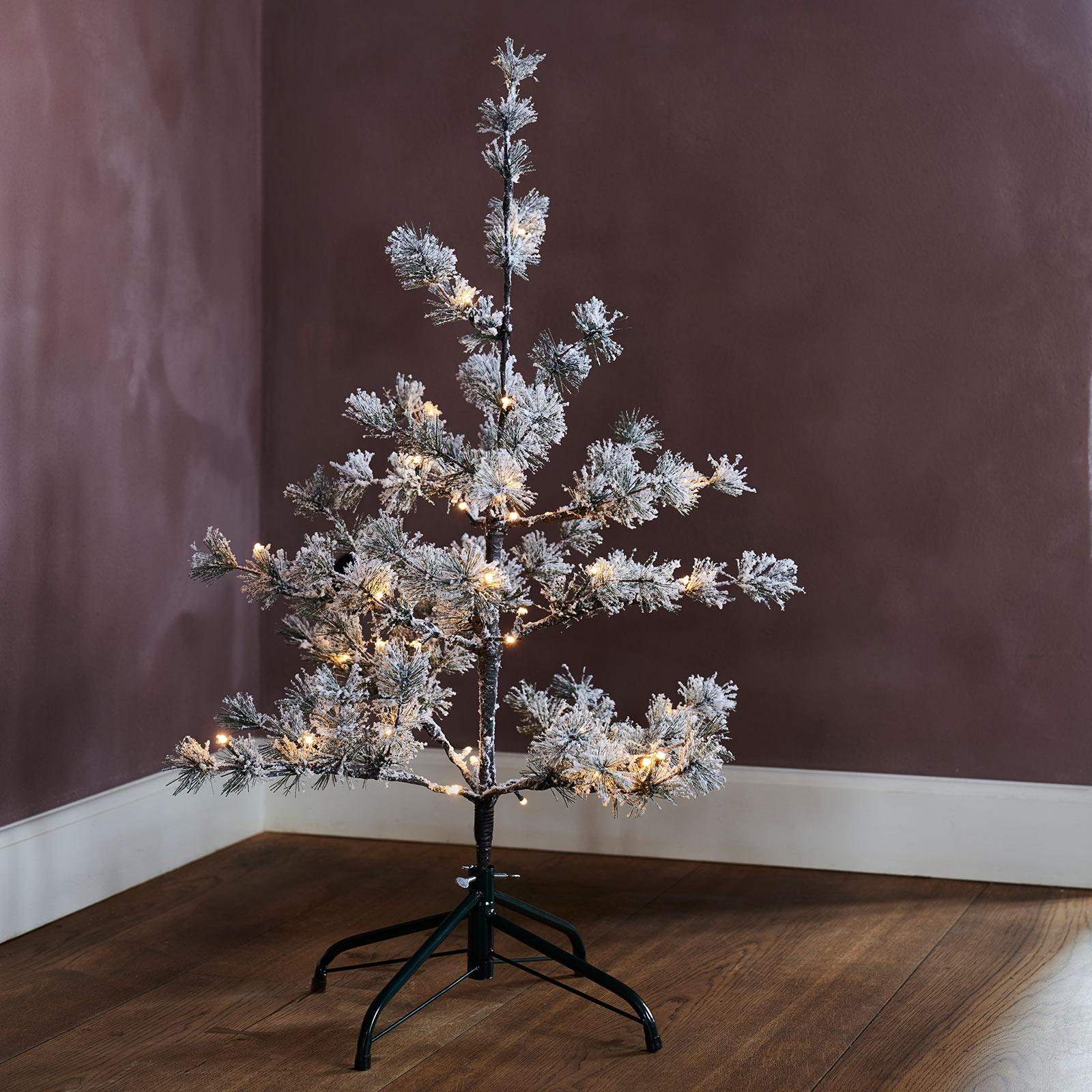 LED-Baum Alfi, Höhe 90 cm, Batteriebetrieb