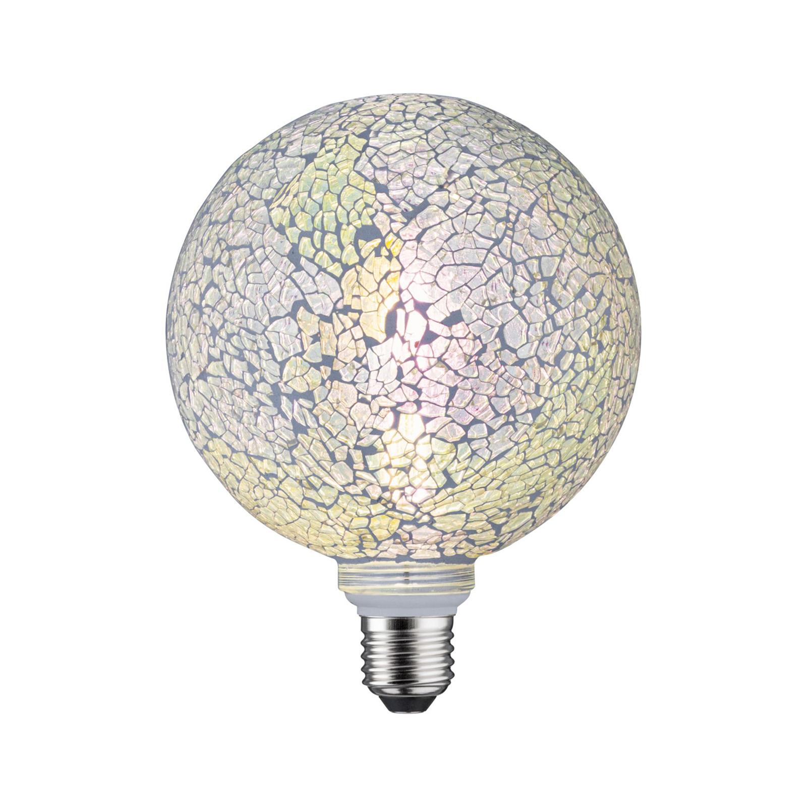 Paulmann E27 LED Globe 5 W Miracle Mosaic hvit