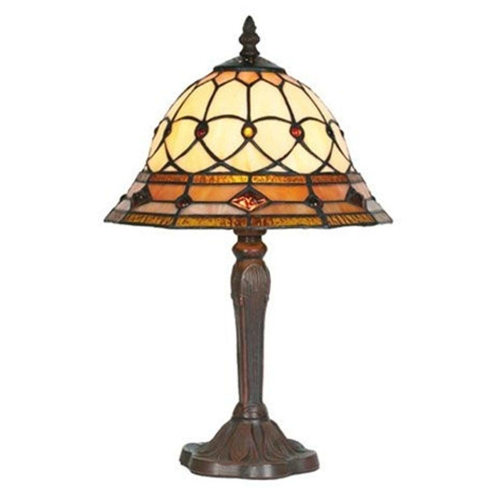 ANTHEA bordslampa i tiffanystil