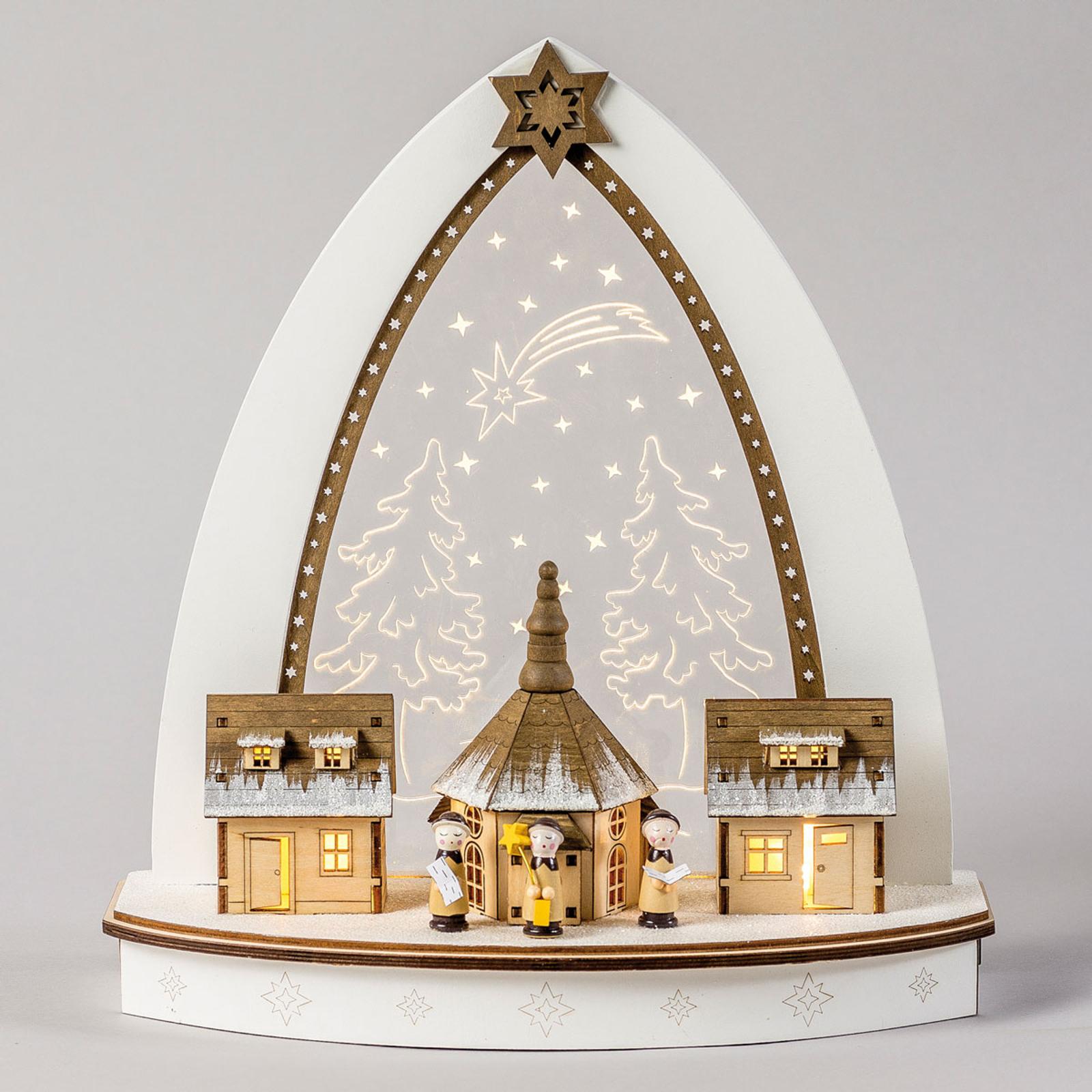 Lampe pyramidale LED Seiffen fine