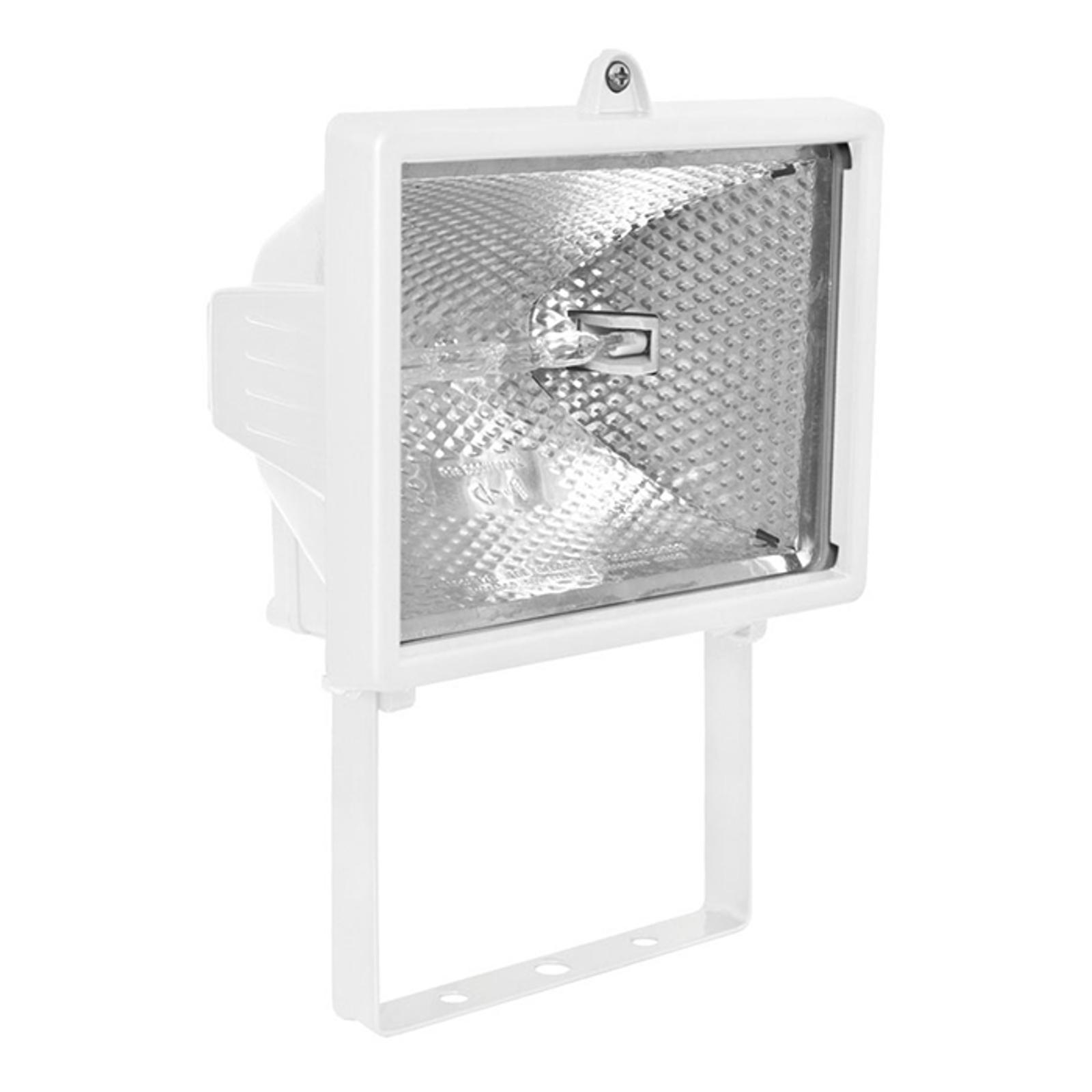 Svingbar 400W udendørs projektør POWER II hvid