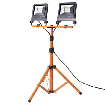 LEDVANCE Worklight-LED-valonheitin, jalusta 2x50W
