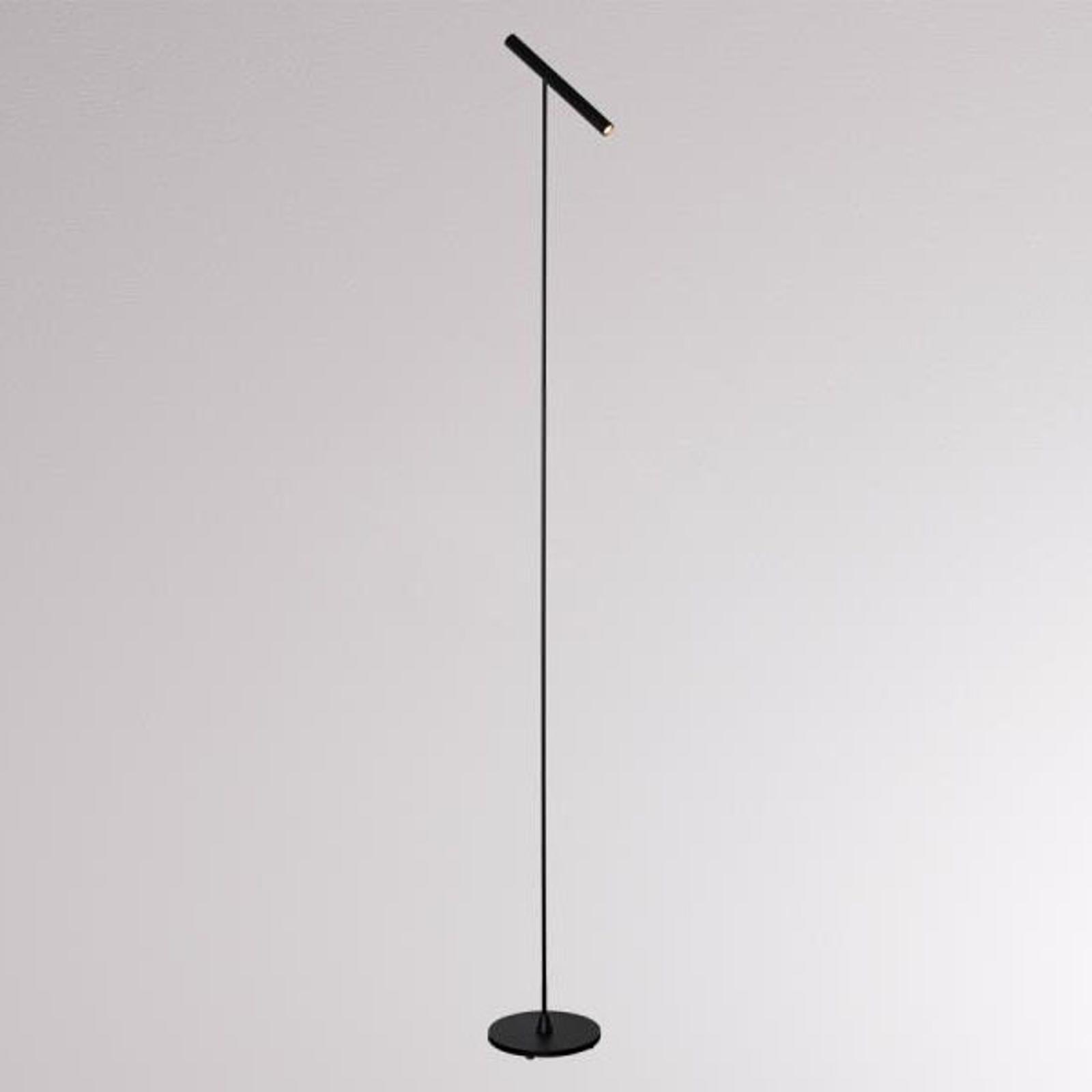 LOUM Meyjo lampa stojąca LED czarna