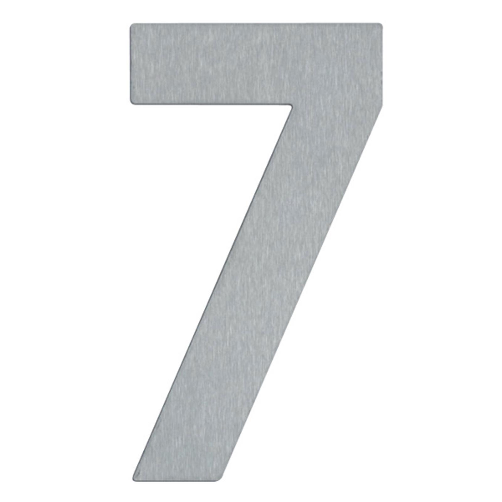 Numer domu 7   ze stali szlachetnej