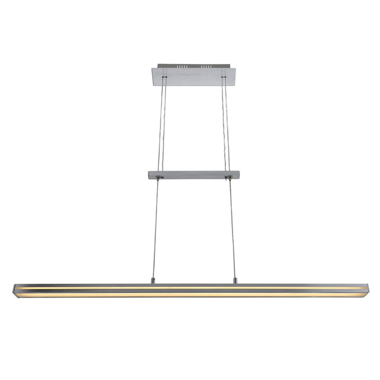 In hoogte verstelbare LED hanglamp Carina m.dimmer