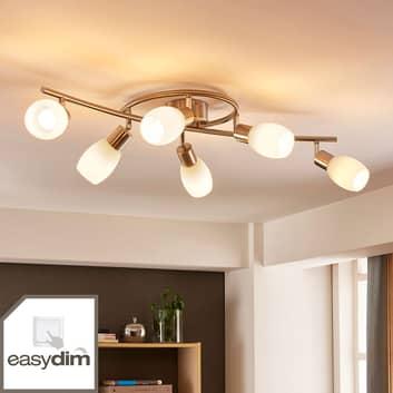 Stropní LED světlo Arda, easydim 6bodové 75 cm
