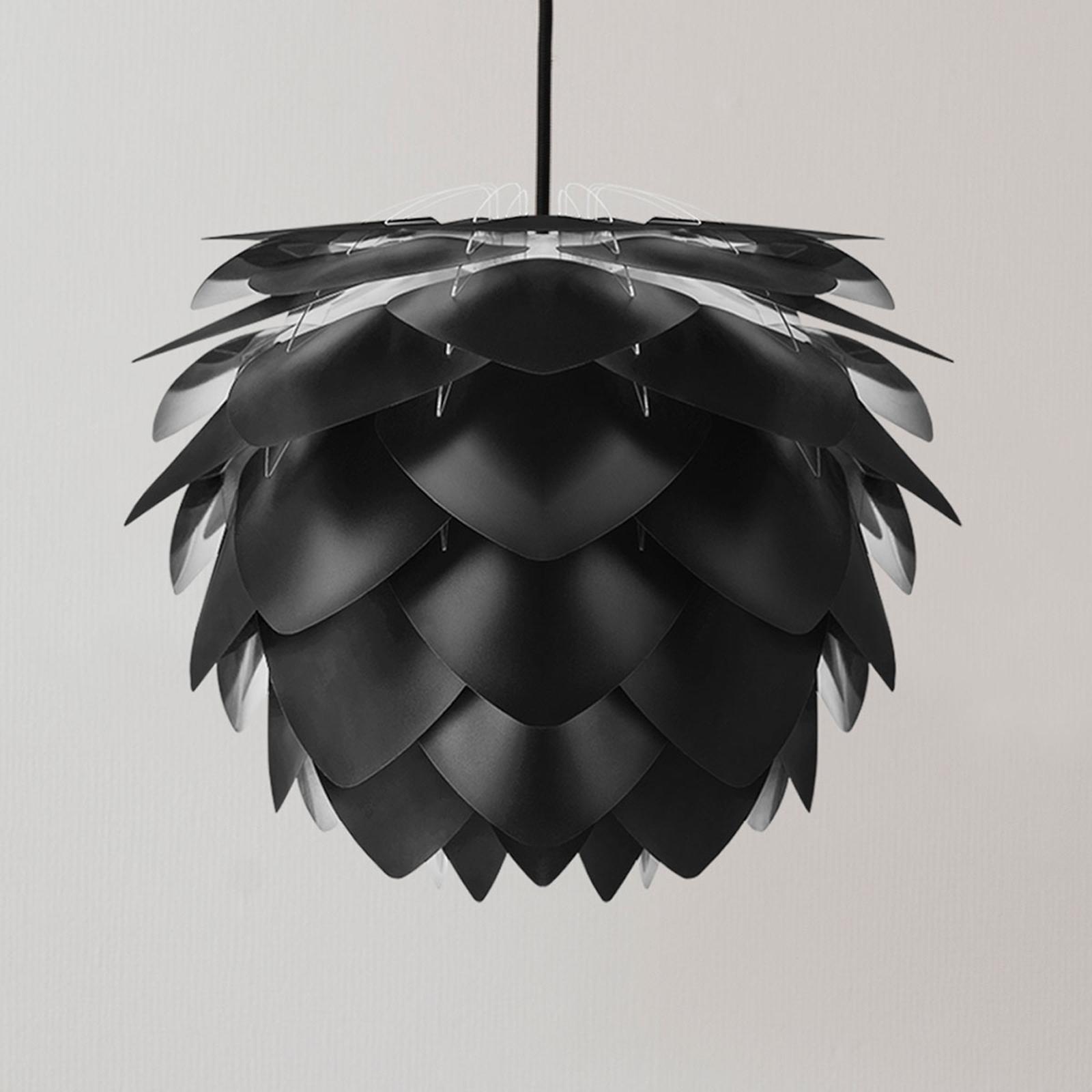 UMAGE Silvia Medium lampa wisząca, czarna, Ø 50 cm