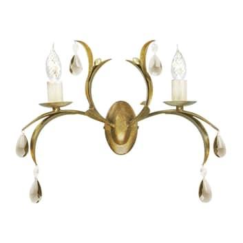 Lámpara de pared simpática LILY bronce metalizado