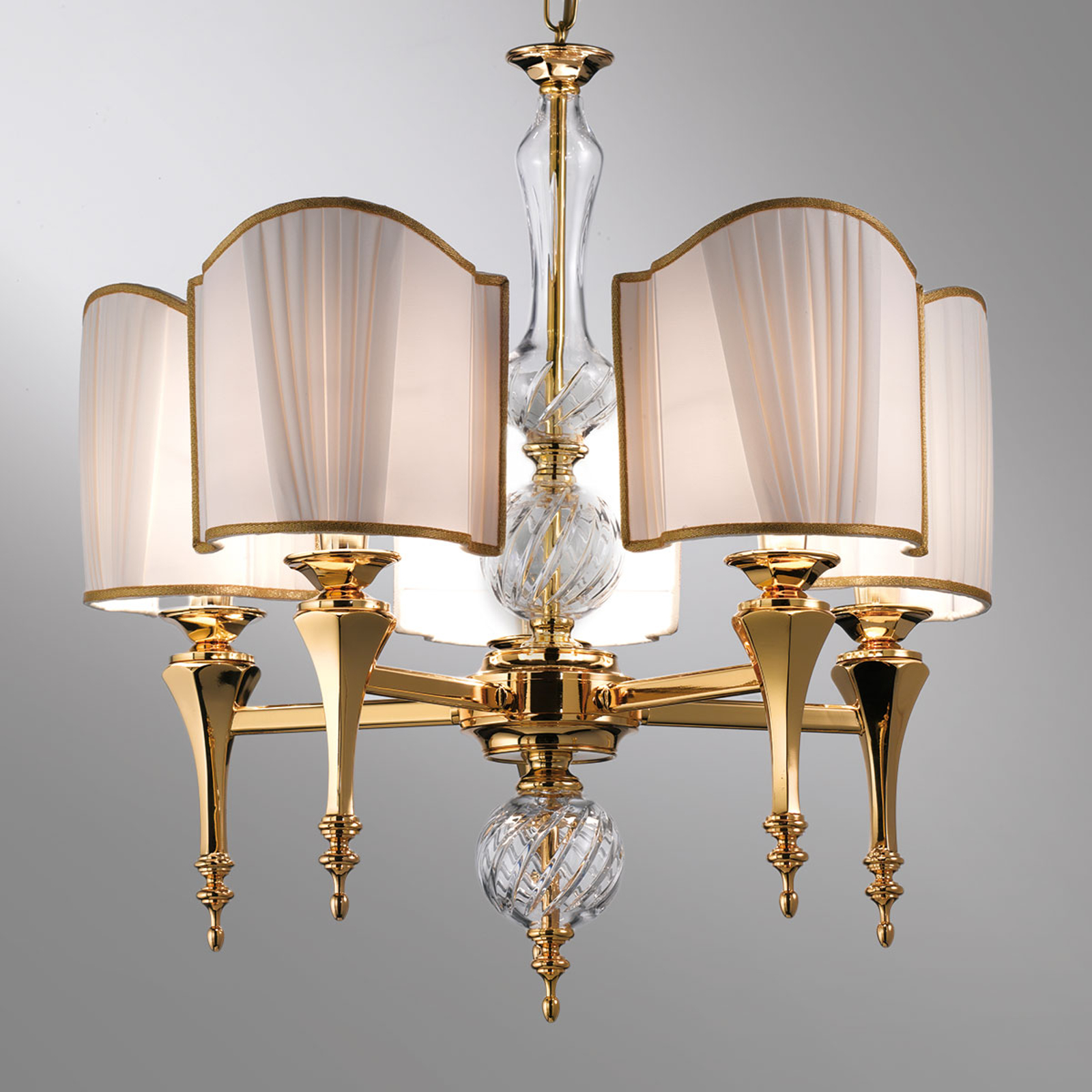 Belle Epoque - lampada a sospensione 5 luci