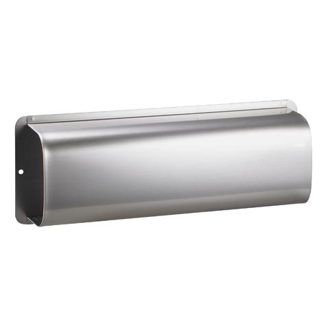 Tidningslåda i rostfritt stål för postlåda RAIN