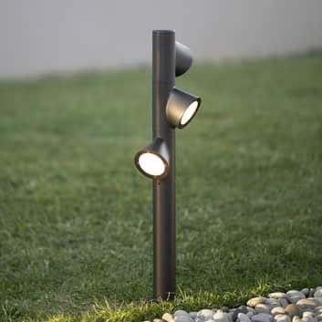 Martinelli Luce Bruco borne à 3 lampes 93cm